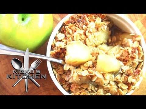 How to make Apple Crumble - Video Recipe