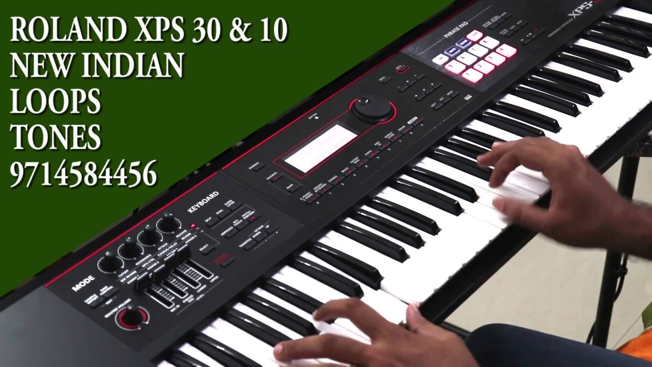 Roland xps30 xps10 new indian loops and tones july 2018 edition