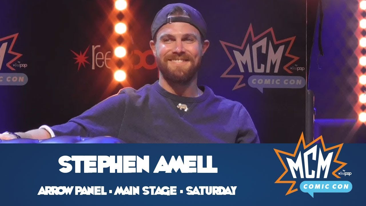 Stephen Amell (Arrow) Panel From MCM London Comic Con - May 2019