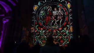 City of Lights in Carlisle Cathedral for Discover Carlisle