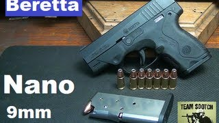 Video Beretta Nano 9mm Sub Compact Pistol download MP3, 3GP, MP4, WEBM, AVI, FLV Juli 2018