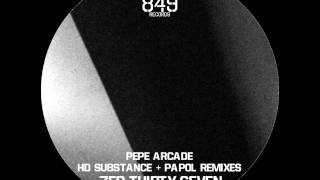 Pepe Arcade - 37.0 (Original Fedadi Vedmell Mix) Serial Number 849 Records