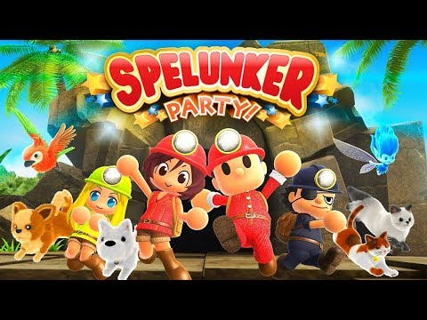 Spelunker Party - Cave Explorers (4 Player Co-op!)