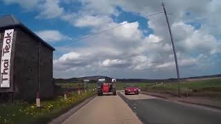 Spring Drive From St Andrews To Tayport Fife Scotland