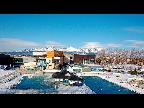 Sylwester Poprad AquaCity Słowacja Baseny Termalne