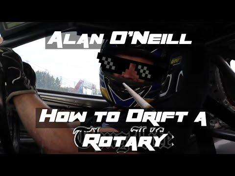 Alan O'neill IADC  How to Drift with a Rotary Engine