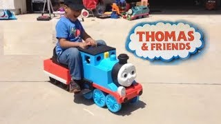 Thomas and friends Ride on Big Train, Walker and Tow Truck Mater Walker