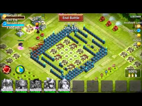 Castle Clash - VLAD POWER! 10*/10 Skill/100 Inscribe 071715