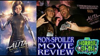 """Alita: Battle Angel"" 2019 LIVE Sci-Fi Action Movie Review - The Horror Show"