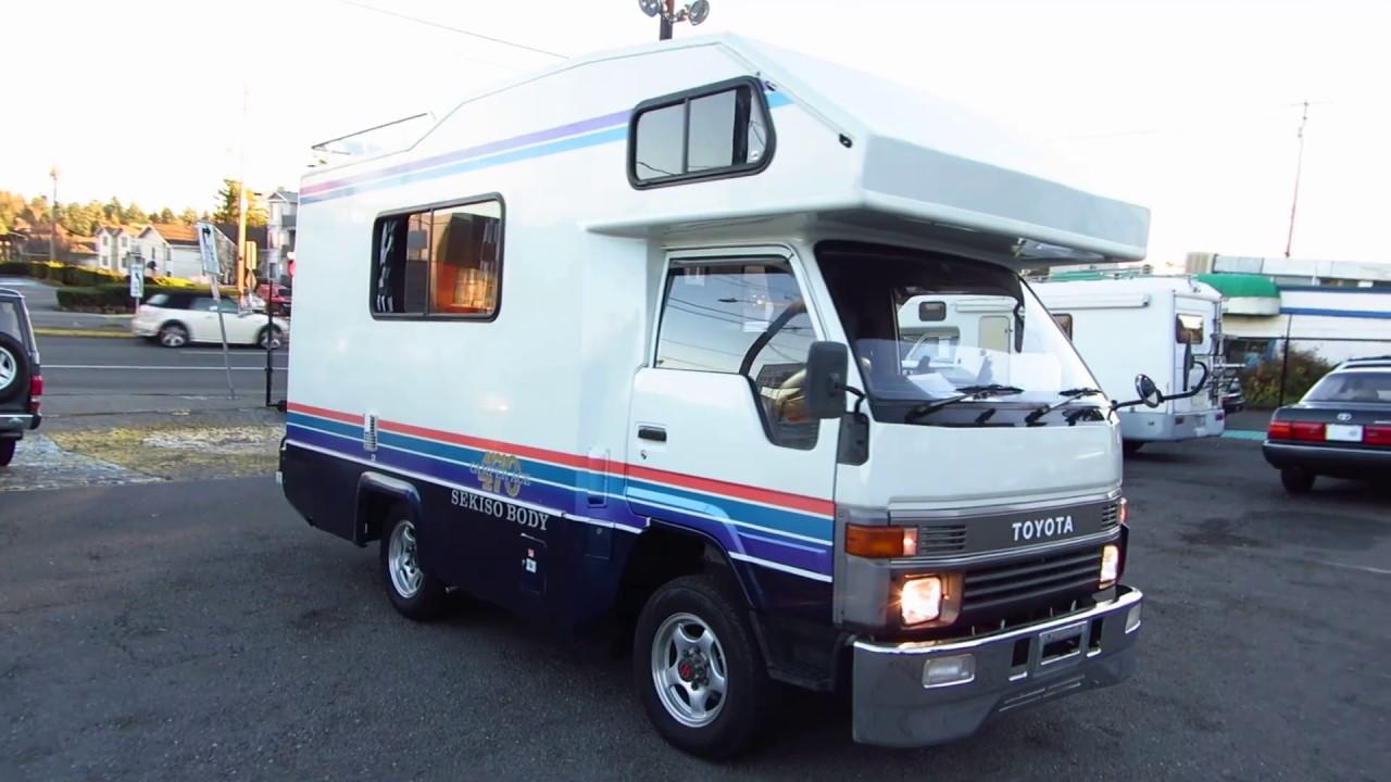 Toyota Hiace Truck Camper Ace 470 Lh Part 2