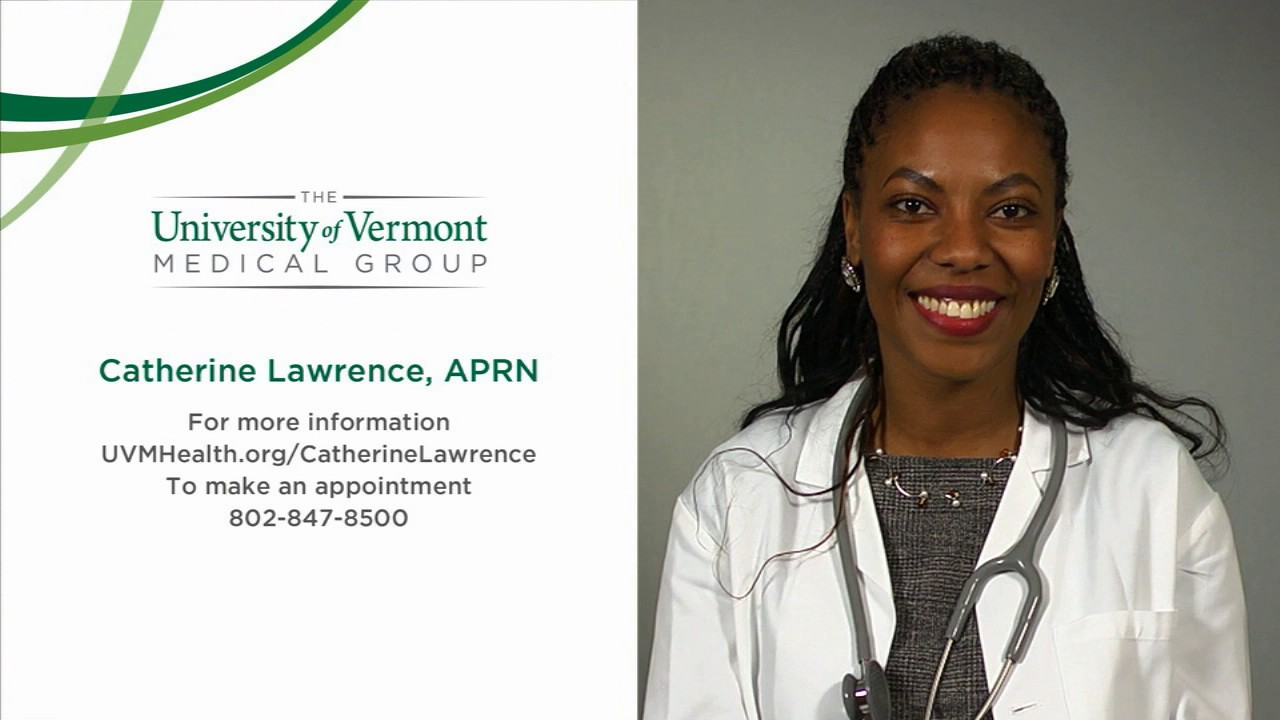 Catherine Lawrence, APRN, Family Medicine Nurse Practitioner, University of Vermont Medical Center