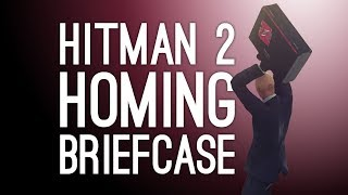 Hitman 2 Homing Briefcase! Rake Accident! (Let's Play The Batty Tranquility Escalation)
