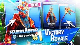 NEUER SKIN IM SHOP! Neues Feuerläufer-Set 🔥🛒LIVE NEUER FORTNITE SHOP 5.2 | Fortnite Battle Royale