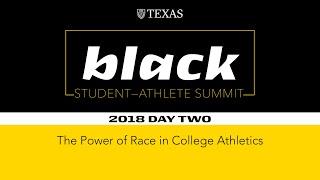 Black Student Athlete Summit 2018 – Day 2