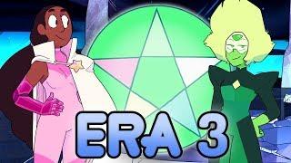 the evolution of homeworld from era 1 and era 2 to era 3?   steven universe theory