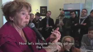 Janette Bertrand Embarasses PQ with Hilarious Charter Rant