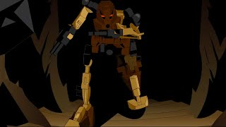 Pohatu Against the Nui Jaga - Bionicle Mata Nui Episode 7