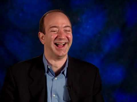 Jeff Bezos interview on Starting Amazon (2001)