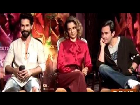 Rangoon: Shahid Kapoor, Kangana Ranaut and Saif Ali Khan Exclusive Interview