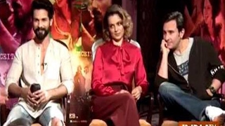 Rangoon: Shahid Kapoor, Kangana Ranaut and Saif Ali Khan Exclusive Interview
