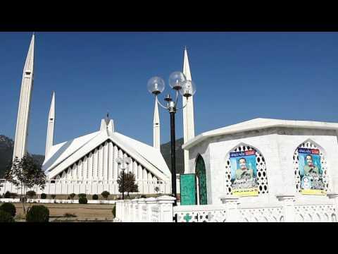 Beauty of Islamabad Faisal Mosque.....