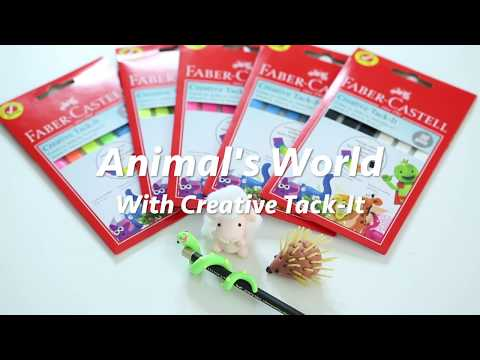 Make Your Very Own Animal World With Creative Tack-It!
