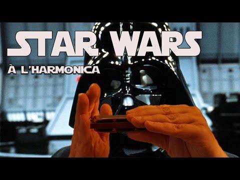 Star wars à l'harmonica