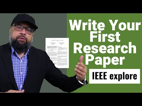 Write Your First IEEE Conference Paper Using Latex [A To Z]