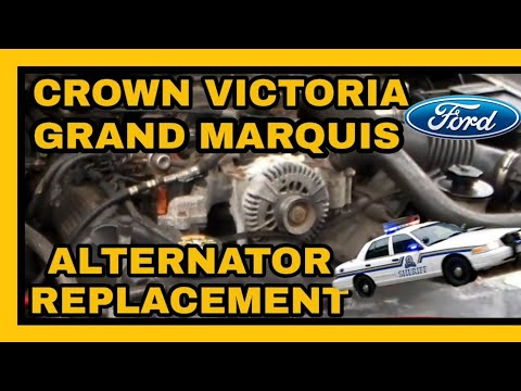 DIY FORD/MERCURY 4.6L Grand Marquis / Crown Victoria ALTERNATOR REPLACEMENT