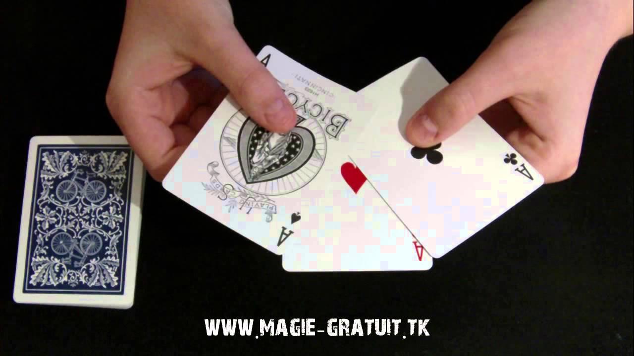 tour de magie carte bonneteau explication