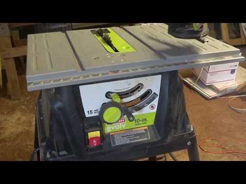 Tradesman Table Saw Model 8032