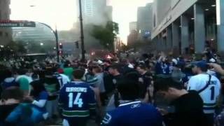 2011 Vancouver Riot Video Destruction After Boston Bruins Win Stanley Cup