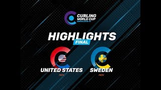 HIGHLIGHTS: United States v Sweden – Men – Curling World Cup leg two, Omaha, United States