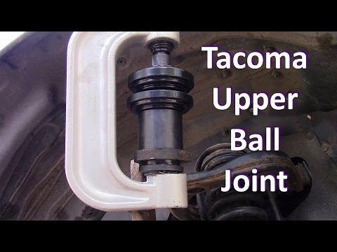 How To Replace A Lower Ball Joint On A 2002 Toyota Tacoma