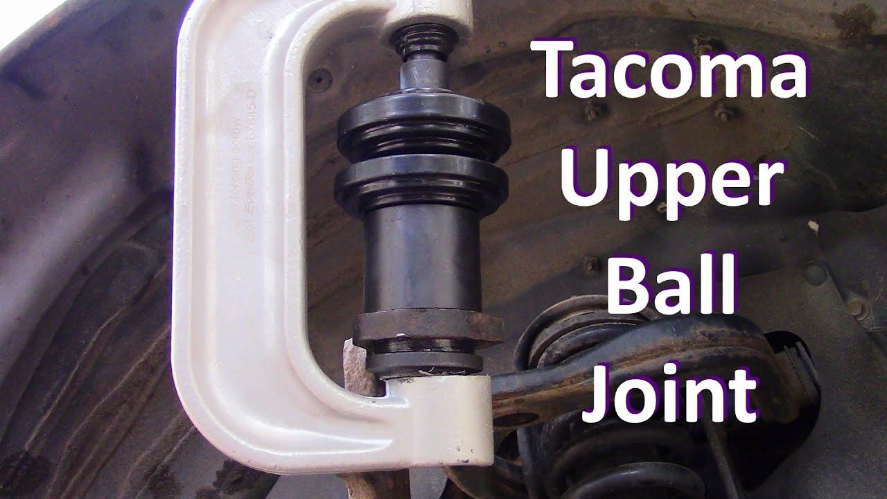 tacoma upper ball joint installation youtube rh youtube com 1998 Acura El Toyota Acura 2004