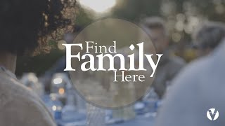 Find Family Here | Week One | More Than A Metaphor