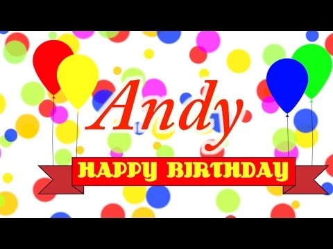 Happy Birthday Andy Song