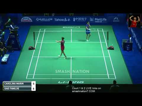 [Loss of form] Carolina MARIN was defeated fastly by young players: GAO Fangjie