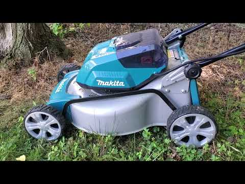 Makita 18v X2 36v Brushless Lawn Mower 6 Week Update