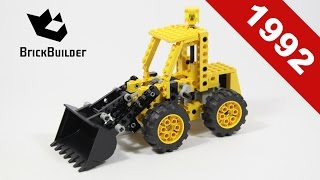 Lego - Back To History - 8828 Front End Loader - 1992 - BrickBuilder
