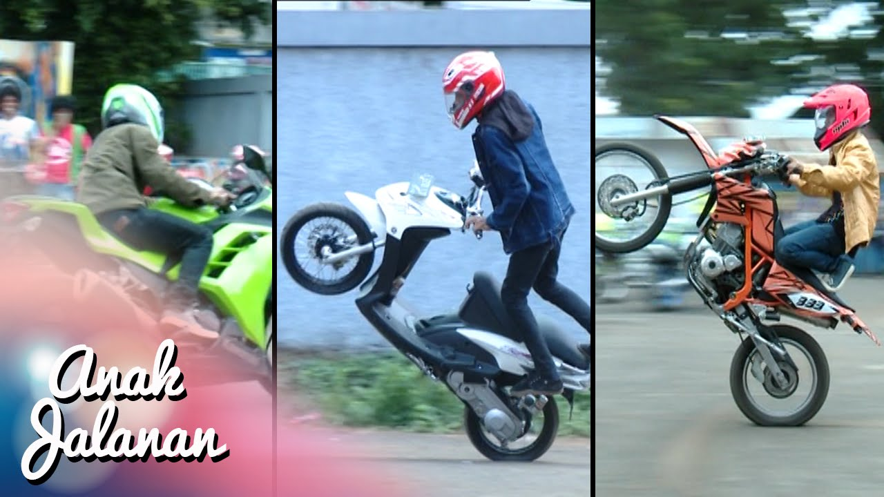 Boy Mondy Dan Tristan Adu Gaya Freestyle Motor Anak Jalanan 4 Januari 2016 Youtube