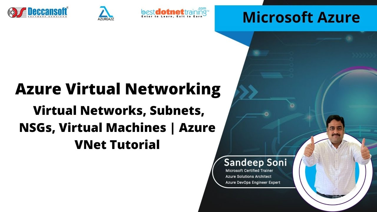 Azure Administrator Tutorial Part-2   VNet, Subnets, NSGs, Virtual Machines   Azure VNet