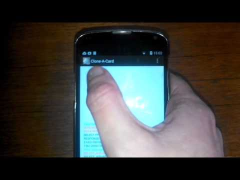 See How This Android App Clones Contactless Credit Cards In
