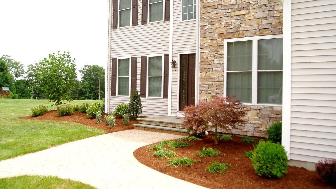 Front Yard Landscape Design Ideas Oxford CT Landscaper ... on Landscape Front Yard Ideas  id=85028