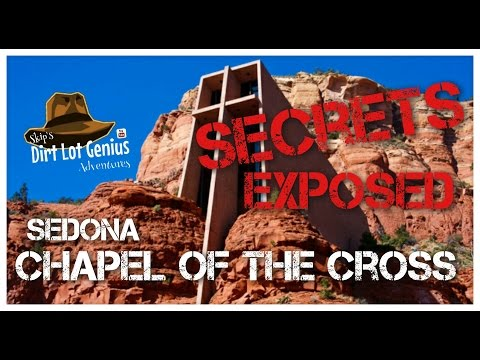 Sedona AZ Secrets of the Chapel of the Holy Cross and its Weird alien connection & the 911 memorial.