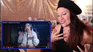 Vocal Coach REACTS to BILLIE EILISH- BELLYACHE