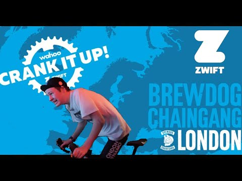 WAHOO X ZWIFT CRANK IT UP TOUR!   LONDON