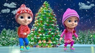 We Wish You A Merry Christmas | Xmas Music & Kids Songs | Cartoons by Little Treehouse