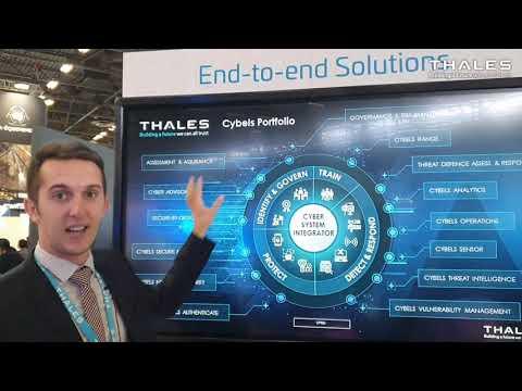 La CyberDéfense chez Thales, Milipol 2021