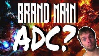 Brand main ADC? New Season New Meta? Rhetorical Questions? Live commentary gameplay